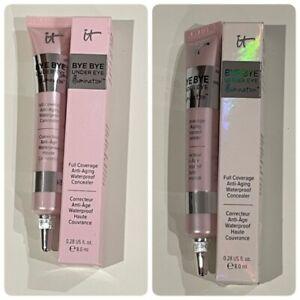 IT Cosmetics Bye Bye Under Eye Illumination Concealer Tan or Rich Medium New NIB