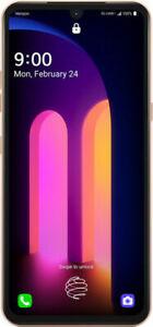 LG V60 ThinQ 5G LMV600TM T-Mobile Unlocked -128GB Classy WHITE T-Mobile UNLOCKED