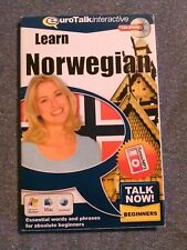 AMT5011 EuroTalk Interactive Learn Norwegian CD-ROM Beginners Level. Laer Norsk!