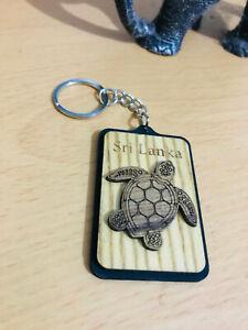 Turtle KeyChain Sri Lanka Wooden KeyTag