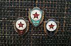 UdSSR Abzeichen Set Ausgezeichneter Soldat Heer Luftwaffe und Marine