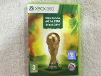 Coupe Du Monde De La Fifa Brésil 2014 Xbox 360 EA SPORTS Made IN Eu Pal