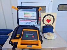 Physio Control Biphasic Lifepak 500 with battery DEFIBRILLATOR