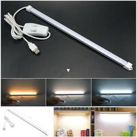 5V Usb Led Strip Bar Desk Table Cabinet Lamp Light For Bedside Book Reading