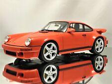 GT Spirit Ruf 964 SCR 4.2 Porsche 911 (964) Turbo Orange Resin Car Model 1:18