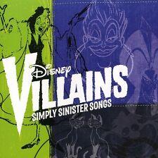 Disney - Disney Villains: Simply Sinister Songs [New CD]