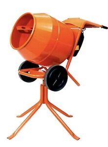 Genuine Altrad Belle 240v Electric Cement Mixer Minimix 150 With Stand Boxed