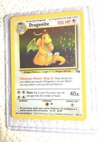 DRAGONITE - 4/62 - Fossil - Holo - Pokemon Card - EXC / NEAR MINT