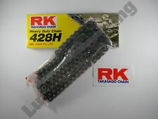 RK Heavy Duty chain 428 pitch with 132 links for some Yamaha Suzuki Honda 125cc