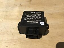 97K! MERCEDES W164 ML320 CDI LAMP HEAD LIGHT CONTROL MODULE 2118708726  OEM