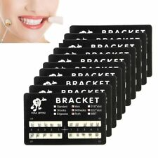 10 Packs Dental Orthodontic Brackets Braces Mini Roth Slot.022 3-4-5 Hooks
