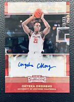 20-21 Contenders Draft ONYEKA OKONGWU RC Game Day Prospect Ticket Auto #d 18/23