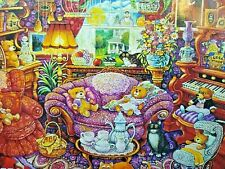 Teatime For Teddy  Bill Bell  550 Piece KI Puzzle  NEW