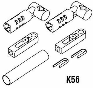 KIT ADATT.CAVI C8 X MERCURY  K56