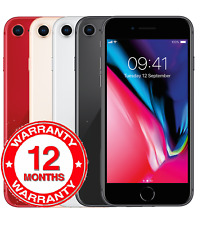 "New Apple iPhone 8 64GB Multi Colour 12M Warranty 4.7"" 12MP Unlocked Smartphone"