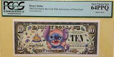 2005T $10 Stitch Disney Dollar Graded By PCGS Very Choice New 64PPQ, T00826281