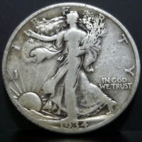 1934 S WALKING LIBERTY HALF DOLLAR ~ Nice Original Older Coin