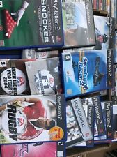 Job Lot Of 100 Ps2 Games All Boxed In Good Working Order Export Car Boot Market