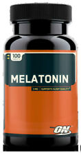 Optimum Nutrition Melatonin 3mg (100 Tablets) Sleep Support w/ FREE SHIPPING