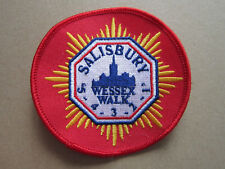 Salisbury Wessex Walk Walking Hiking Cloth Patch Badge (L3K)