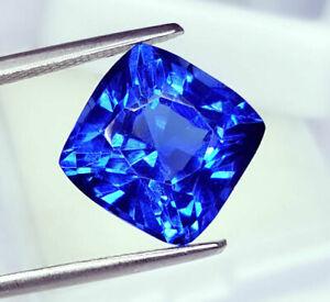 Superbe saphir bleu du Sri-Lanka - 11,17 carats avec certificat.