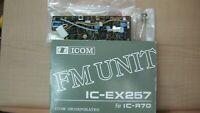 """ICOM IC-EX257 FM Unit R70 R71 R-70 R-71 """"NEW"""""""