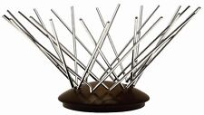 Legnoart Ashwood and Stainless Steel Fruit Basket RRP £65