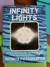 Full Kit (30 Pieces) Infinity Lights Puzzle Lamp. Jigsaw Light + Socket & Cord.