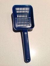 Blue cat litter scoop or litter shovel - brand new - never used