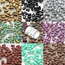 Rulla Czech Glass 2-hole Seed Beads 3x5mm 22 Grams Two Hole U-Pick
