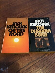 Lot of 2 Jack Kerouac Paperbacks On the Road, and Dharma Bums