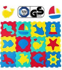 Hakuna Matte® Puzzlematte für Kinder, 12 Meereswelt Spielmatten in einer Tasche