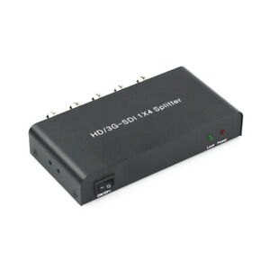 SDI Splitter 1×4 Video Converter Support 1080P Distribution Extender Y4Q4