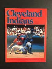 1978 Toronto Blue Jays Vs Cleveland Indians Score Book Program MLB Baseball