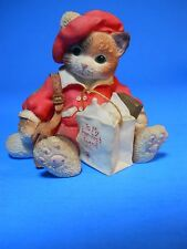 "Calico Kitten Enseco 1997 ""To my purr-fect Friend' Figurine P. Hillman 129348"