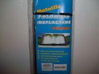 Foldable Metallic Mylar Reflective Car Auto Window Sun Visor Windshield Shade