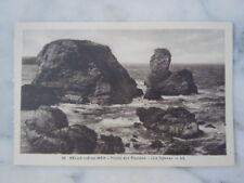 Carte postale Pointe des Poulains Le Sphinx à Belle-île-en-Mer