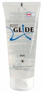 Lubrificante Intimo Penetrazione ANALE 200ml Medicale Just Glide a Base d' Acqua