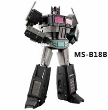 New Transformers Magic Square MS-B18B G1 Black Optimus Prime Figure In Stock