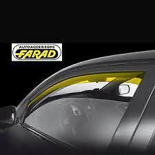 "DEFLETTORI ARIA ""FARAD"" FIAT GRANDE PUNTO '05-> 5 PORT ANTITURBO ANTIVENTO 12466"