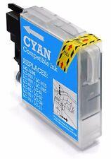 1 MEDIARANGE Remanufactured ciano Brother LC980 LC1100 C Cartuccia Di Inchiostro MRB1100