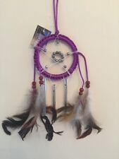 Purple Dream Catcher Pentagram Wind chime Dreancatcher