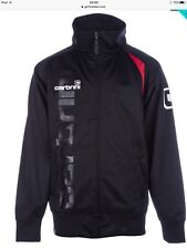 Carbrini Boys Zip Tracksuit Black & Red Jacket Ages 12-13 Ideal For Xmas RRP £35