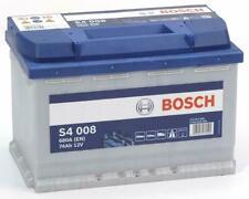 Bosch Starterbatterie S4 008 74Ah 680A Auto batterie Akku für VW Passat