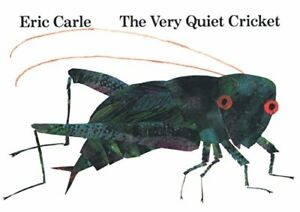 The Very Quiet Cricket by Carle, Eric Hardback Book The Cheap Fast Free Post