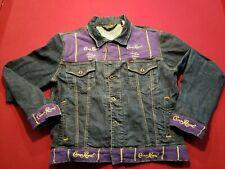 Ralph Lauren Polo Sport Mens Medium Denim Jean Crown Royal Custom Trucker Jacket