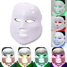 Micro Needles Roller Acne Removal LED Light 7 Color Facial Mask Rejuvenation PDT