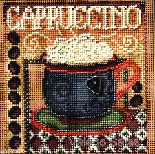 "Mill Hill Buttons Beads Cross Stitch Kit 5"" x 5"" ~ CAPPUCCINO Sale #14-8202"