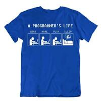 Programmer Life T-Shirt Computer Humor Joke Shirt Networking Tshirt