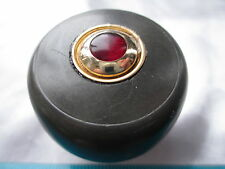 VINTAGE GRAY WITH RUBY INSERT  Shift Knob Fits Harley-Indian-Jeep-Chevy-Plymouth